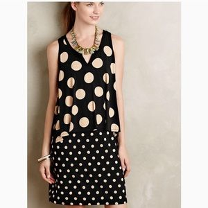 Maeve Anthropologie • Davina Polka Dot Dress
